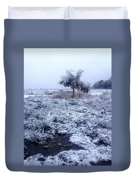 Cold Blue Duvet Cover