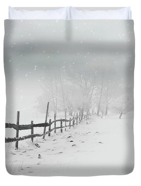 Cold Crow Duvet Cover