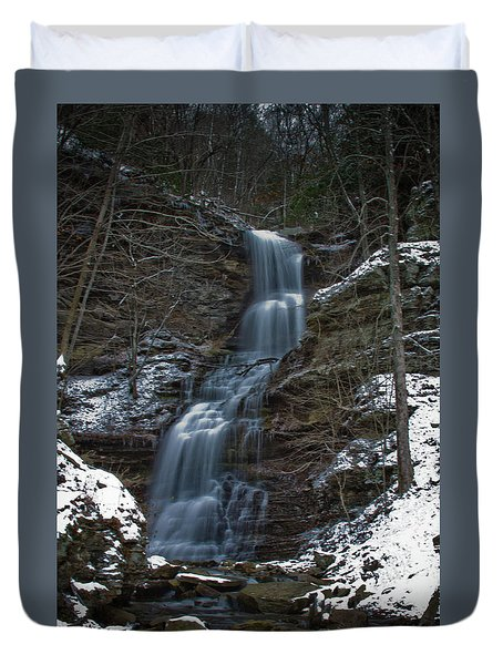 Cold Day At The Cathedral Duvet Cover