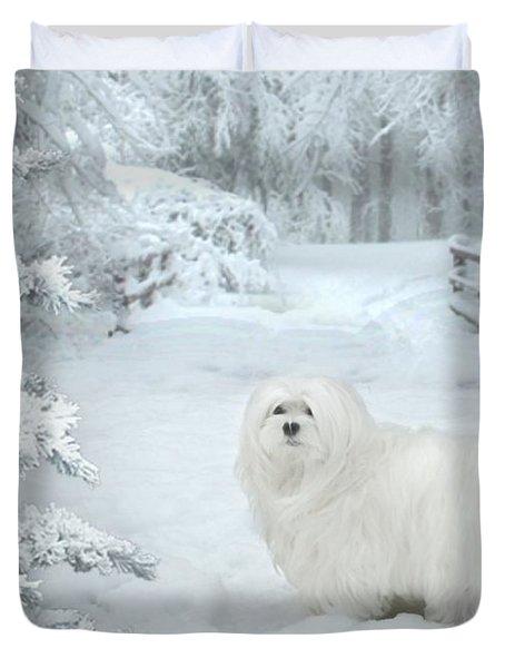 Cold Feet Duvet Cover