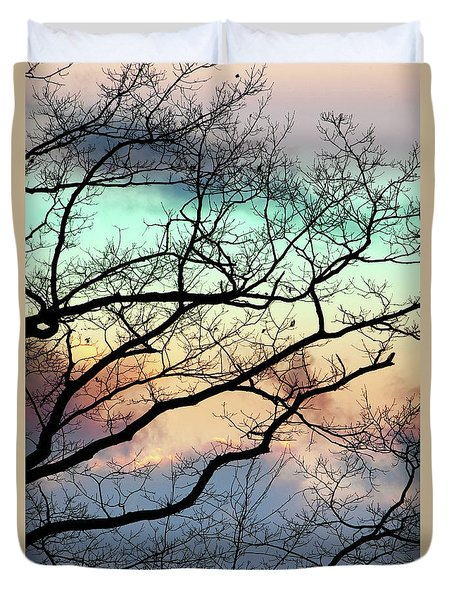 Cold Hearted Bliss Duvet Cover by Christina Rollo