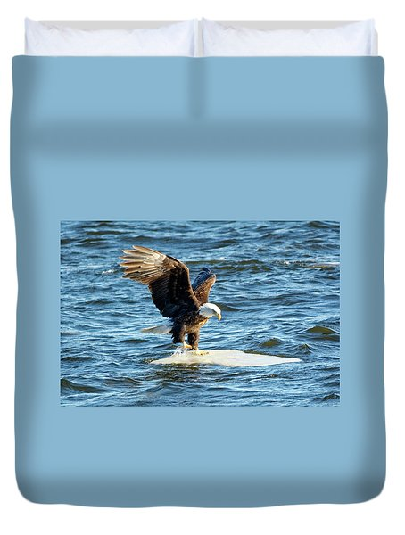 Cold Landing Duvet Cover