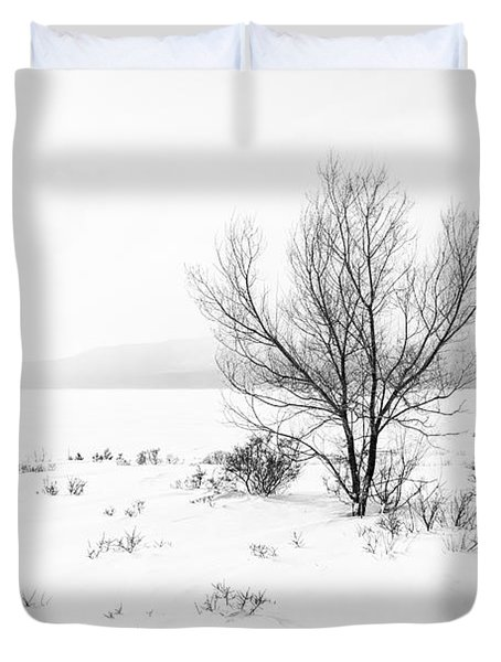 Cold Loneliness Duvet Cover