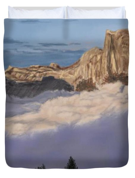 Cold Mountains Duvet Cover