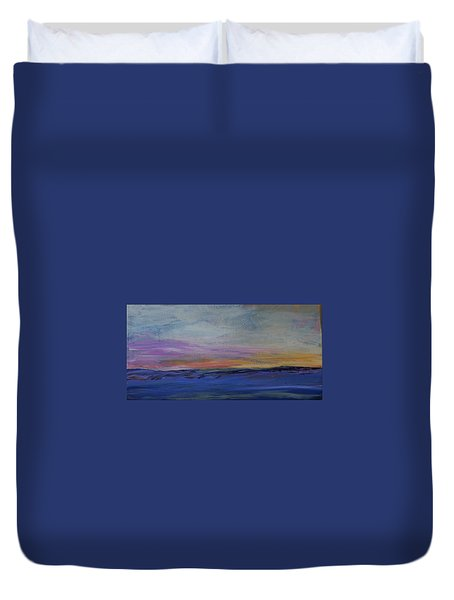 Cold Night Coming Soon Duvet Cover