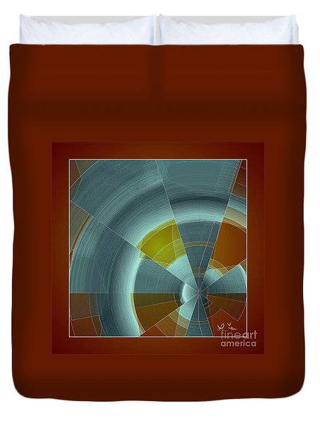 Cold Rays Duvet Cover