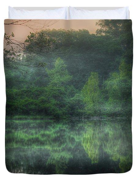 Cold Spring Lake Duvet Cover