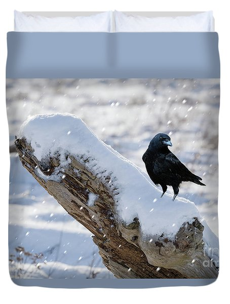 Cold Winter Duvet Cover