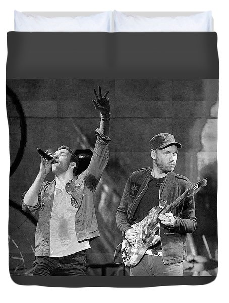 Coldplay 14 Duvet Cover by Rafa Rivas