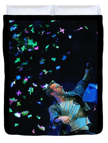 Coldplay1 Duvet Cover