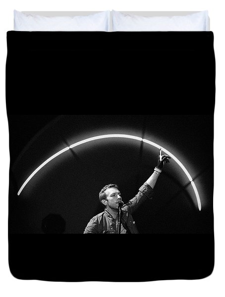 Coldplay10 Duvet Cover by Rafa Rivas