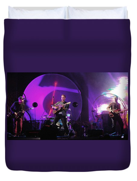Coldplay5 Duvet Cover
