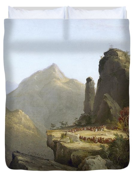 Cole: Last Of The Mohicans Duvet Cover