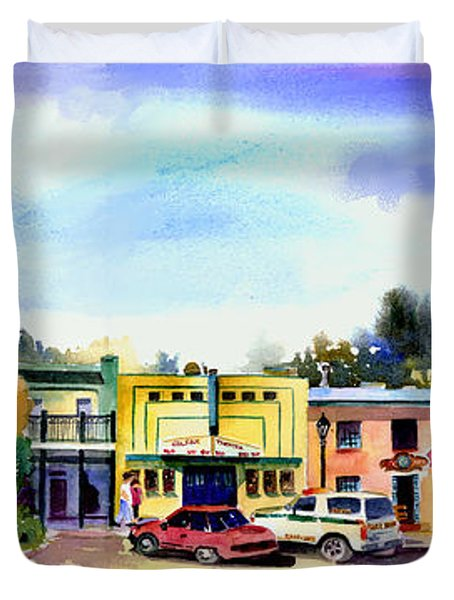 Colfax Main And Church Street Duvet Cover