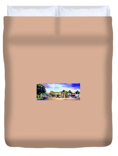 Colfax Main And Church Street Duvet Cover