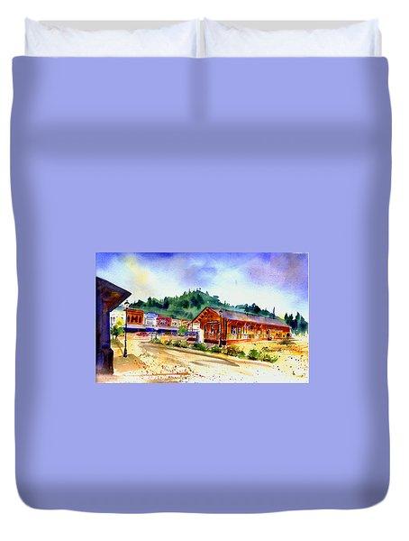 Colfax Rr Junction Duvet Cover
