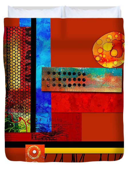 Collage Abstract 2 Duvet Cover