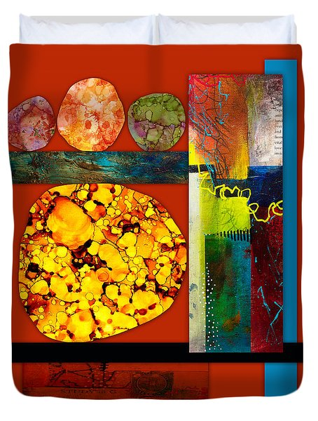 Collage Abstract 3 Duvet Cover