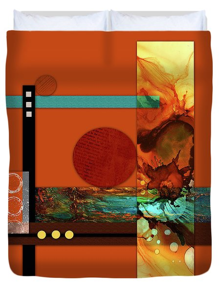 Collage Abstract 6 Duvet Cover
