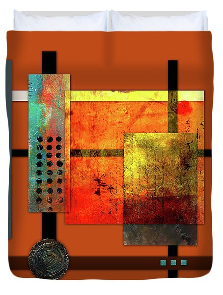 Collage Abstract 7 Duvet Cover