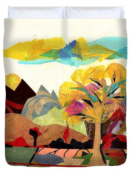 Collage Landscape 2 Duvet Cover