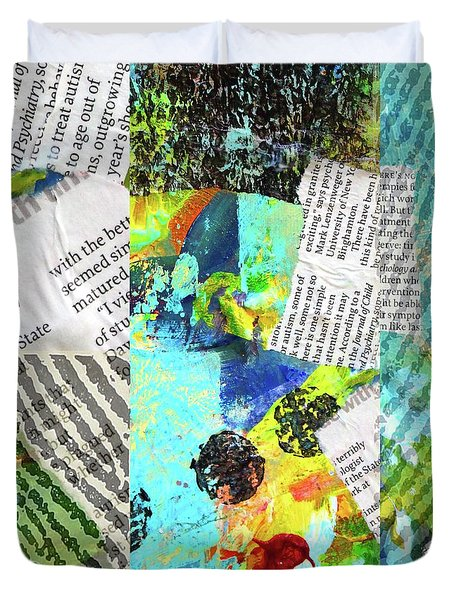 Collage No 11 Duvet Cover