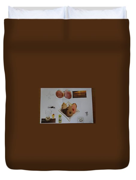 Collage Duvet Cover