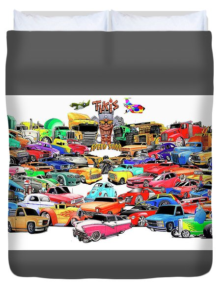 Collage2013 Duvet Cover by Lyle Brown