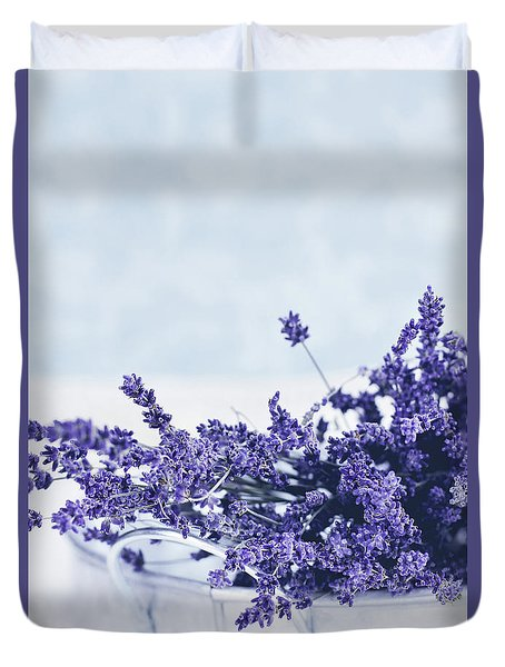 Collection Of Lavender  Duvet Cover
