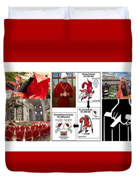 College Of Cardinals Duvet Cover