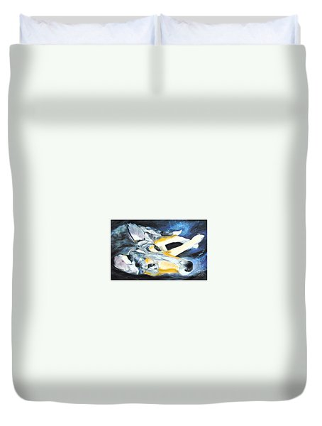 Collie Merle Smooth Duvet Cover