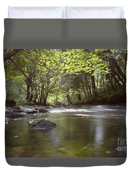Colligan River 2 Duvet Cover