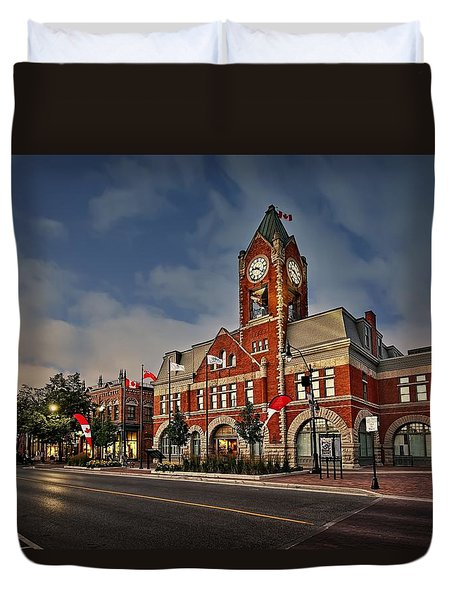 Collingwood Townhall Duvet Cover