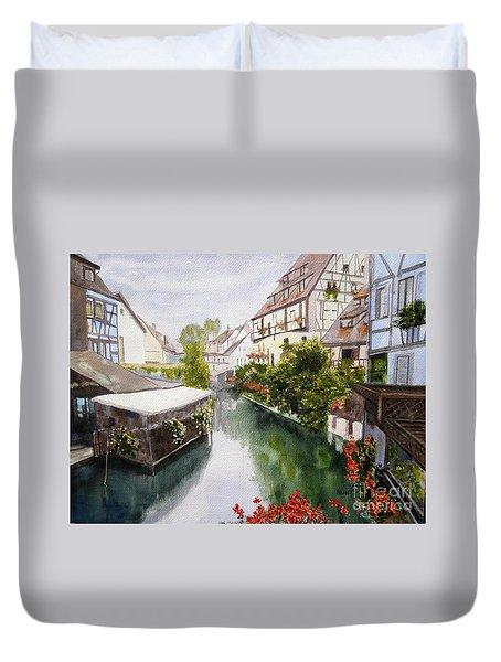 Colmar Canal Duvet Cover