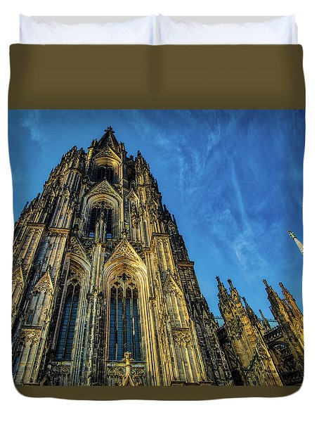 Cologne Cathedral Afternoon Duvet Cover