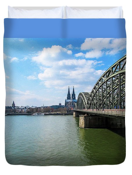 Cologne Duvet Cover by Cesar Vieira