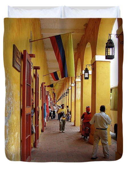 Colombia Walkway Duvet Cover
