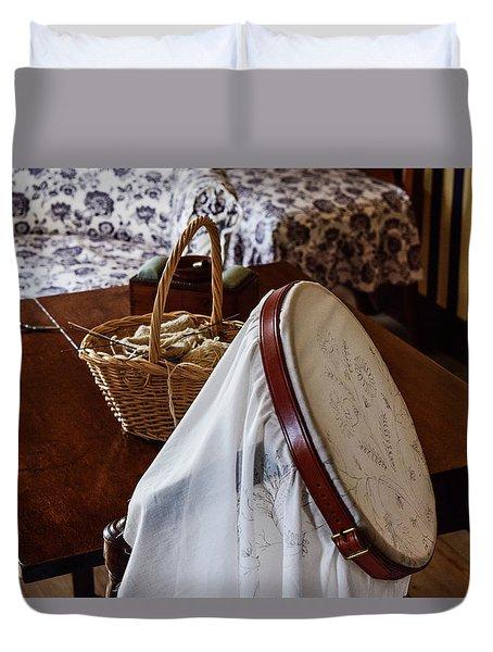 Colonial Needlework Duvet Cover