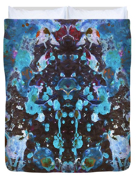 Color Abstraction Iv Duvet Cover