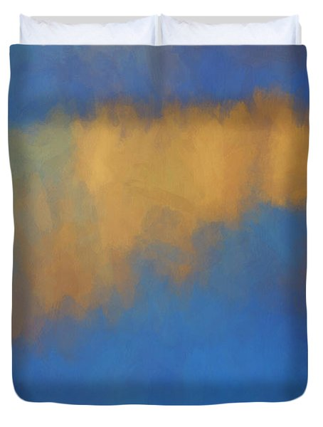 Color Abstraction Lvi Duvet Cover