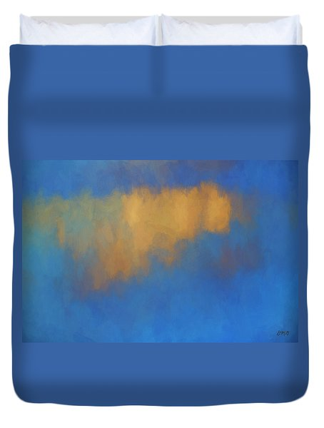 Duvet Cover featuring the digital art Color Abstraction Lvi by David Gordon