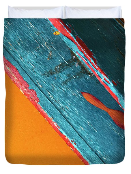 Color Abstraction Lxii Sq Duvet Cover