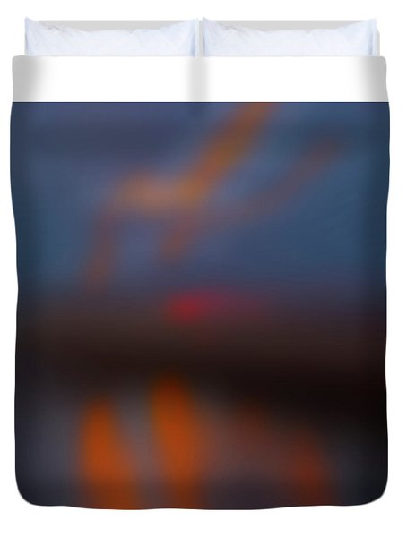 Color Abstraction Lxiii Sq Duvet Cover