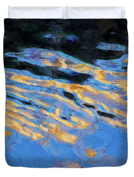 Color Abstraction Lxiv Duvet Cover