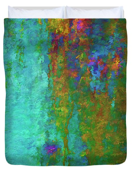 Color Abstraction Lxvii Duvet Cover