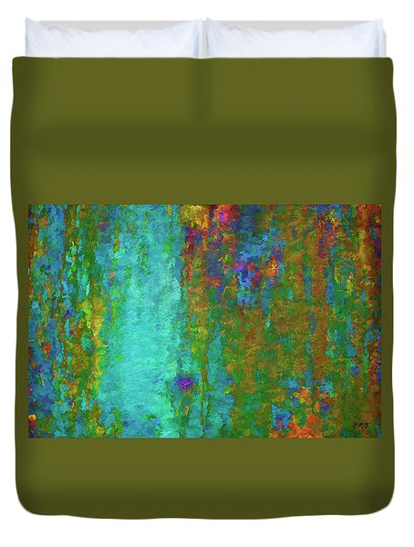 Duvet Cover featuring the photograph Color Abstraction Lxvii by David Gordon