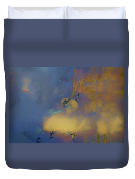 Duvet Cover featuring the photograph Color Abstraction Lxviii by David Gordon