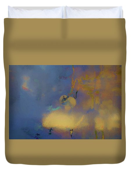 Color Abstraction Lxviii Duvet Cover