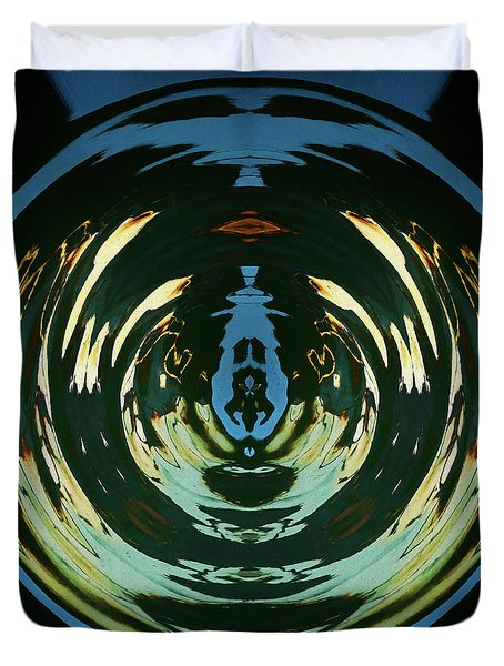 Color Abstraction Lxx Duvet Cover