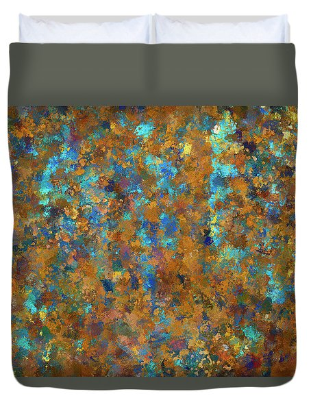 Duvet Cover featuring the photograph Color Abstraction Lxxiv by David Gordon